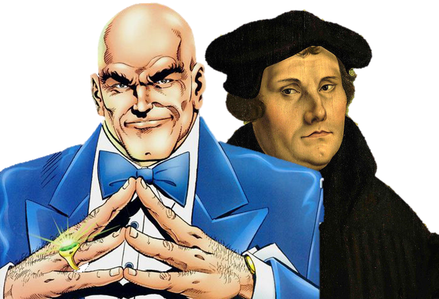 Lex Luthor and MartinLuther