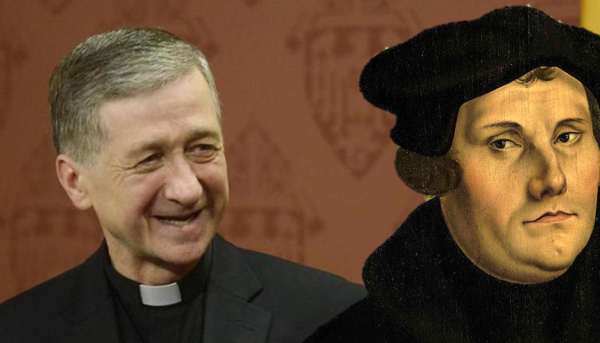Cupich et Luther