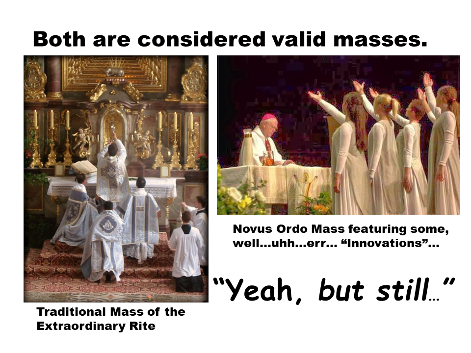 Traditional vs Novus Ordo Mass